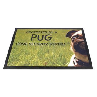 tapis d'entrée photo chien
