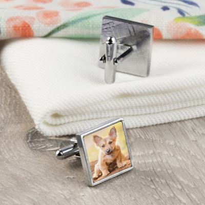 Cufflinks with Photos