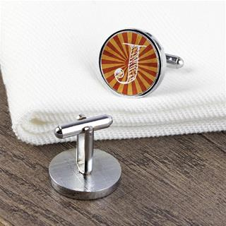 Personalised initial Cuff links name