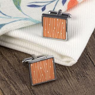Custom Personalised Cufflinks pattern