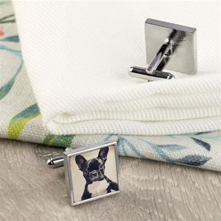 Pets personalised cuff link images