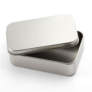 Personalised Silver Tins