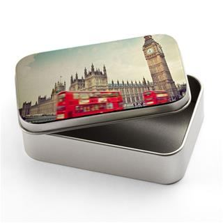 personalised silver tin london view