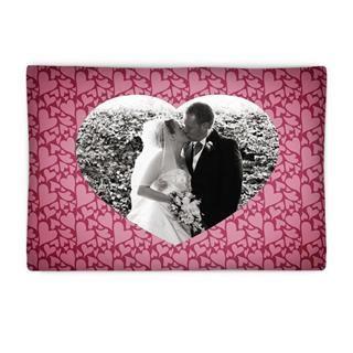 wedding heart pillow