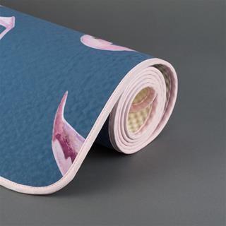 Tapis de yoga imprimé