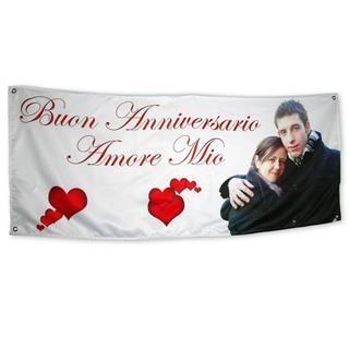 striscioni anniversario fidanzamento