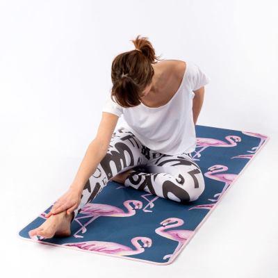 colchoneta de yoga diseñada