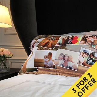 personalised montage pillowcase