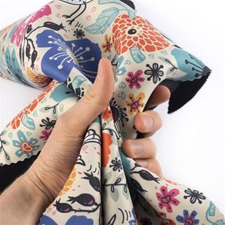 printed wetsuit material neoprene colour print