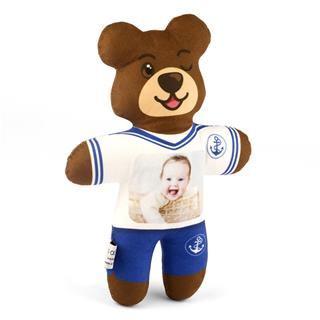 Custom Photo Printed Teddy