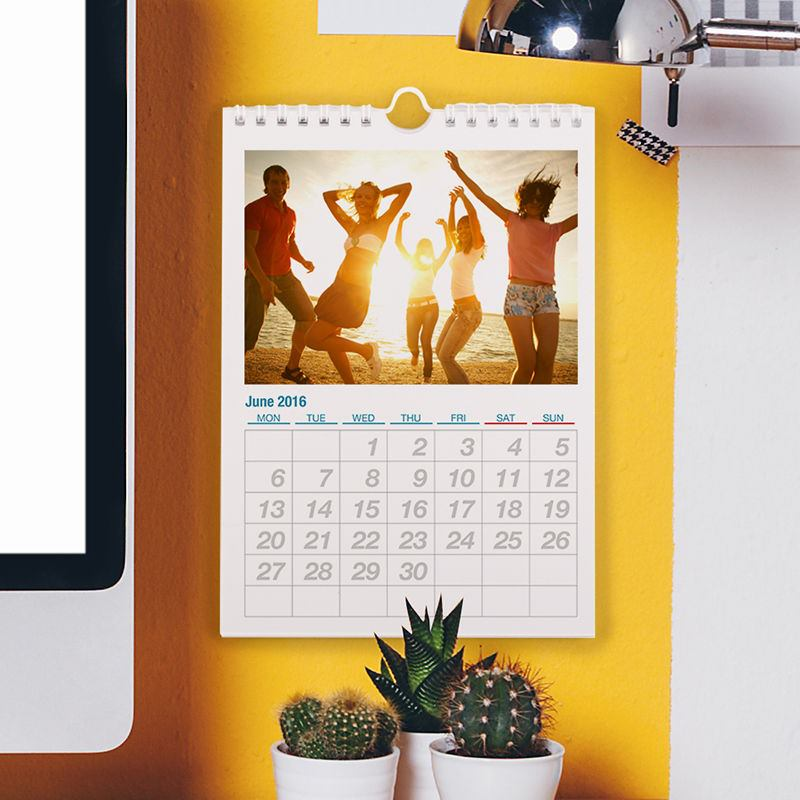 gepersonaliseerde A5 foto kalender