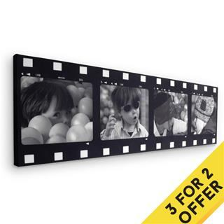personalised photo film strip offer