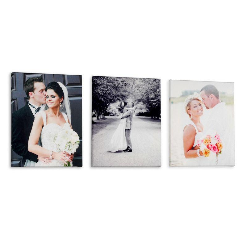 photo sur toiles mariés