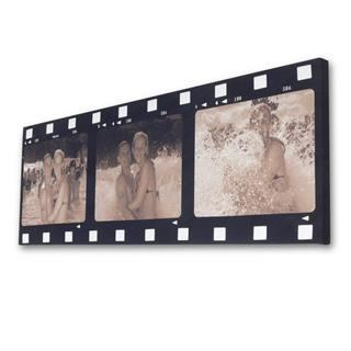 cinema style filmstrip collage