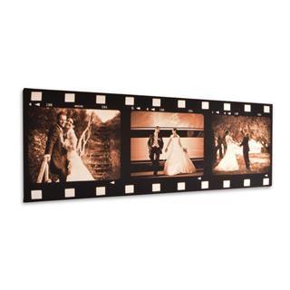 sepia film reel canvas
