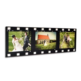 film strip photo frame in colour