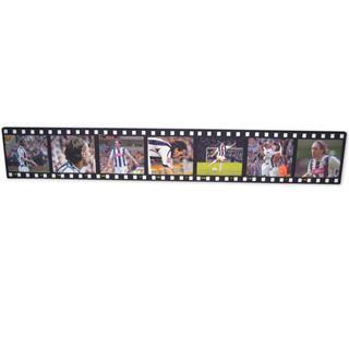 Foto montaje de 7 fotos estilo cinta de pelicula