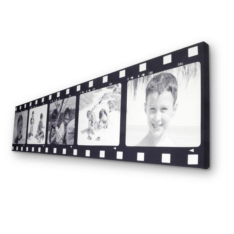 Film Strip Photo Frame Personalised Movie Canvas Prints