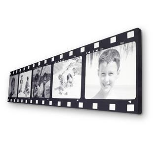 5 photo filmstrip collage