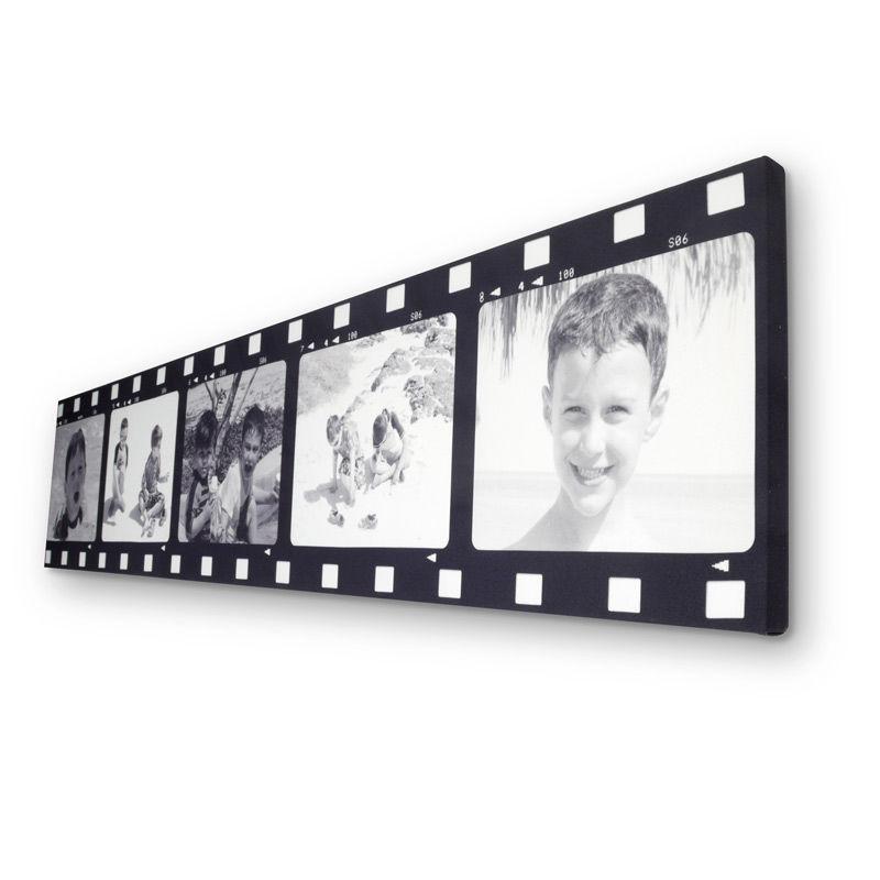 Cuadro Cinta de Película con Foto | Lienzo Tira de Película