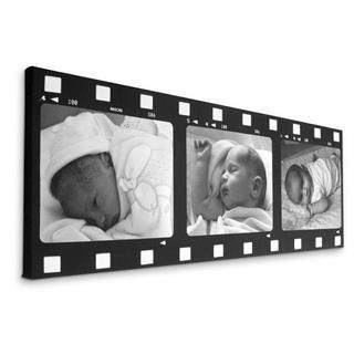3 photo movie canvas prints