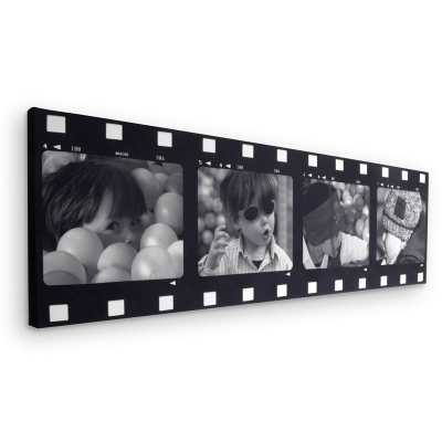 Film Strip Collage Canvas