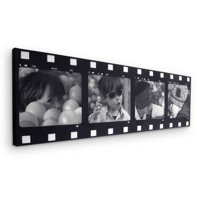 Film Strip Montage Canvas
