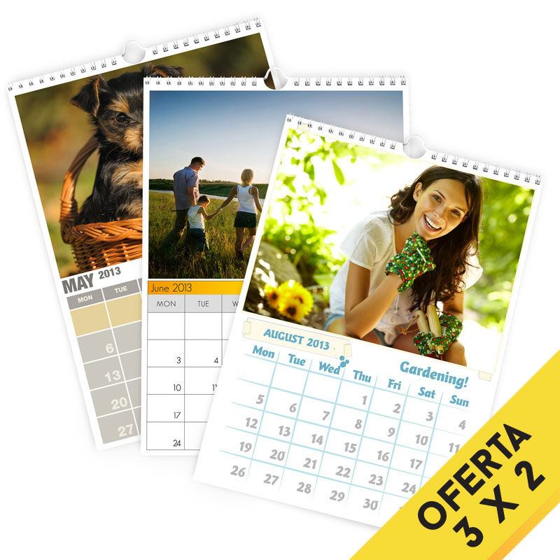 Calendarios personalizados con fotos