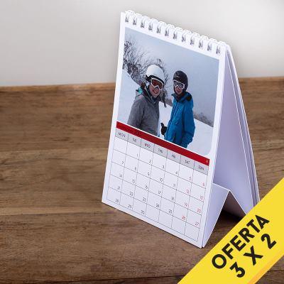 Calendarios A6 mesa