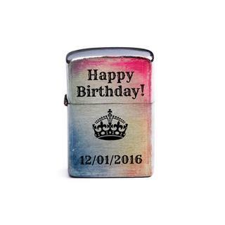 zippo personalizzato buon compleanno