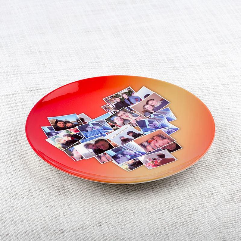Platos personalizados platos de cer mica personalizados for Platos de ceramica