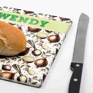 Wrapped Printed Bread Board Detail