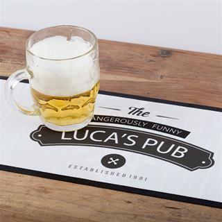 tappetino bar con logo
