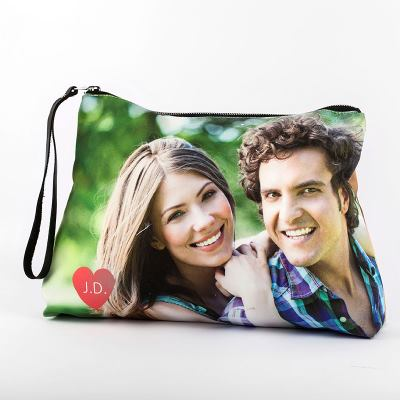 personalised clutch bag with photos