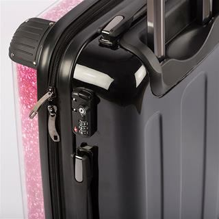 close up personalized suitcase