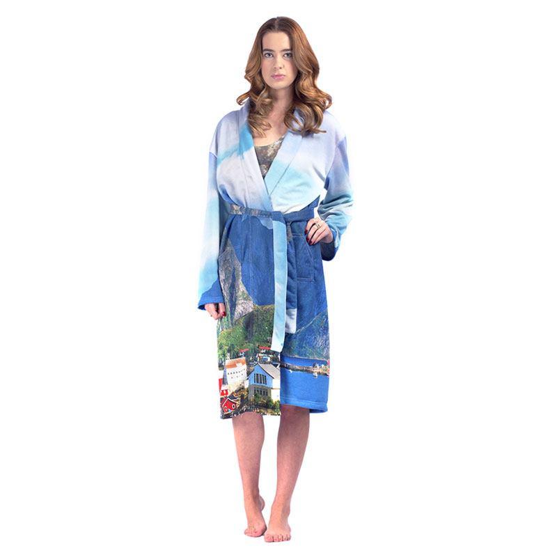 Personalised Dressing Gowns . Custom Design Bathrobes.