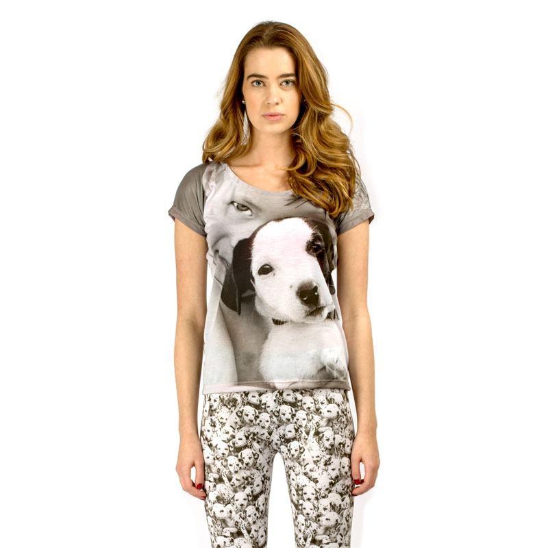 Women 39 s fitted shirt custom printed custom ladies fitted for Custom t shirts for women
