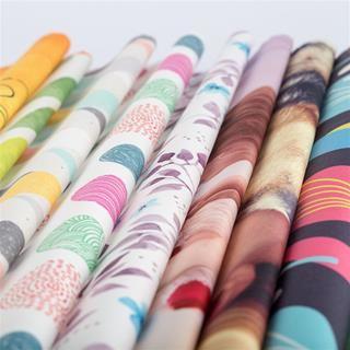 Impression sur tissu coton