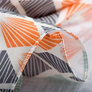 custom printed silk hemming option