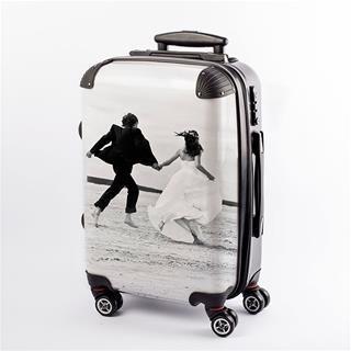 Koffer bedrucken lassen Hochzeitsreise