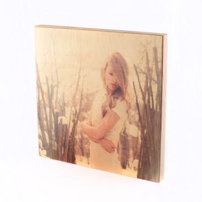 Fototryck på trä