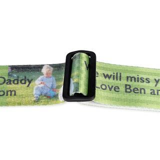 luggage straps personalised with photos