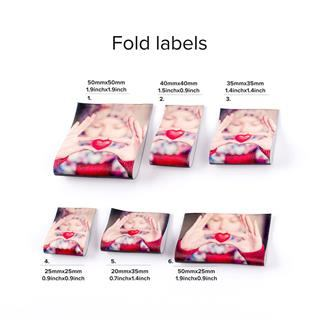 Étiquette personnalisée