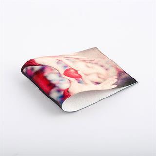 textiletikett med foto