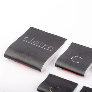 Custom Brand Name Fabric Labels