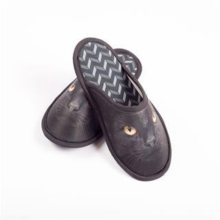Customised Slippers Black