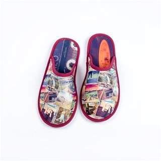 personalised slippers for men photo collage