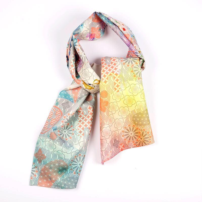 custom printed scarf personalized scarf