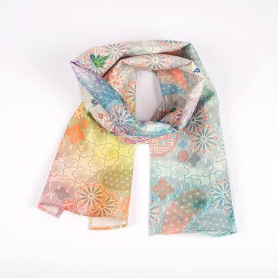 オリジナルデザイン カシミアスカーフ