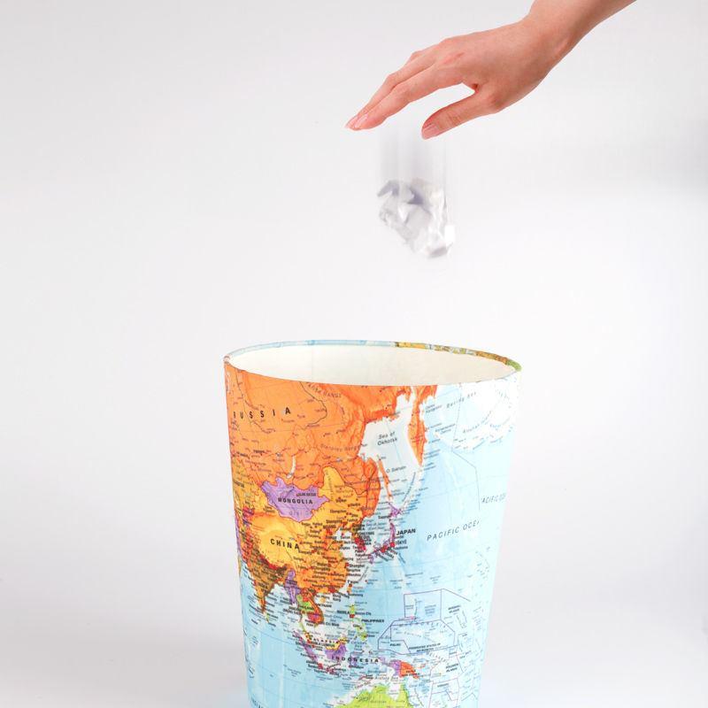 Personalised Waste Paper Bin Custom Waste Paper Basket Uk